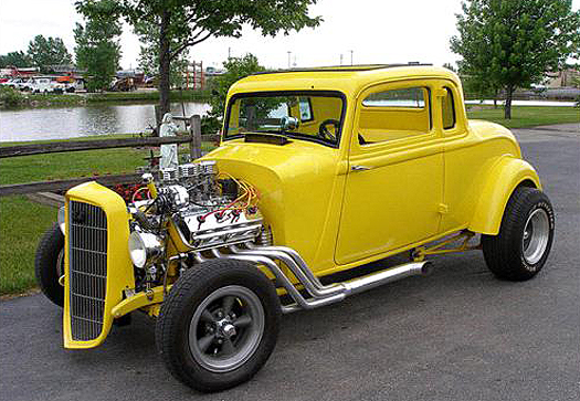 33 Plymouth 5 Window Coupe