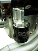 Vertical Oil Filter Mount